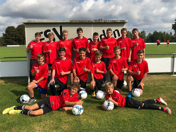 B- Junioren Trainingslager 2018 in Sandharlanden